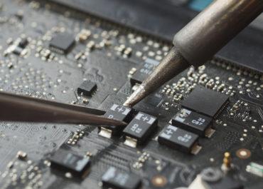 Замена микросхем на ноутбуке